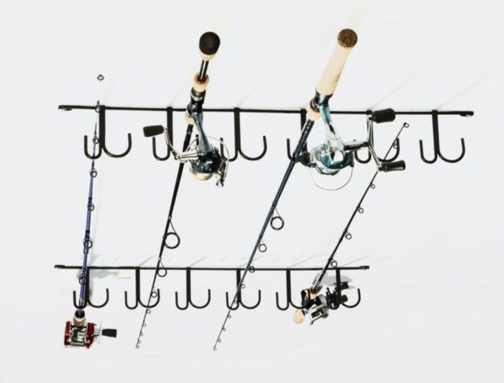 34 best images about fishing ideas on pinterest for Fishing pole organizer