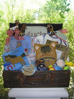 White Horse Relics: Unique Themed Baby Gift Baskets! from $85 - $145