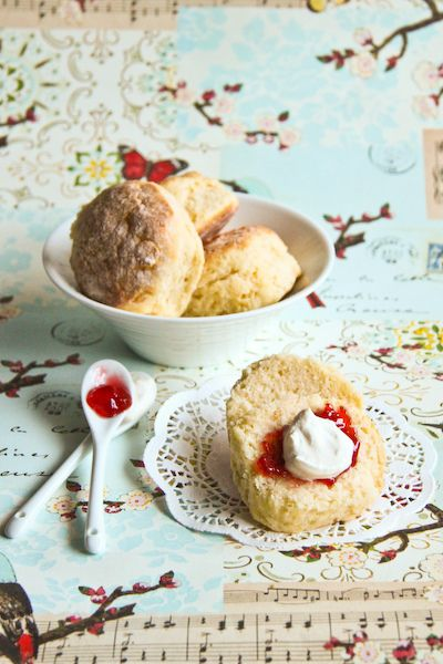 CWA Scones Take 2! Easy, but make sure you back all scones together touching so they rise. To go with my blackberry jam, yum!