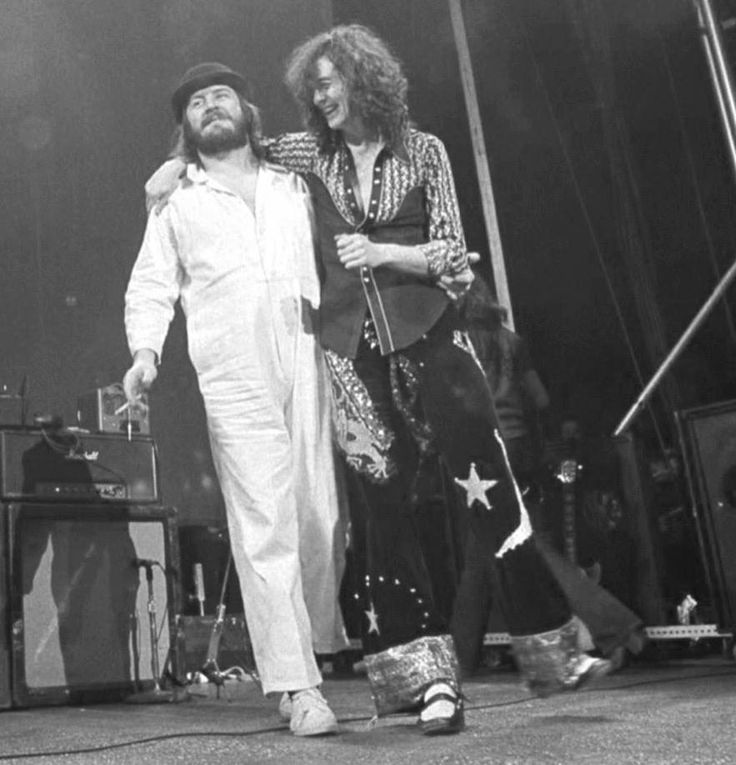 Jimmy Page & John Bonham Led Zeppelin