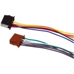 HQ ISO-STANDARD cable adaptateur ISO pour autoradio: Adaptateur universel pour autoradio ISO HQ 2x Radio – 2x Car. Connecteur 1: 2x Radio…