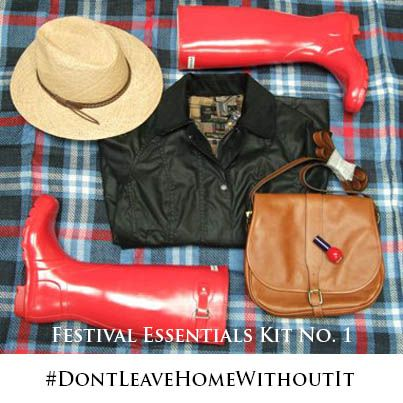 #Festival Essentials kit #DontLeaveHomeWithoutIt bestinthecountry.co.uk