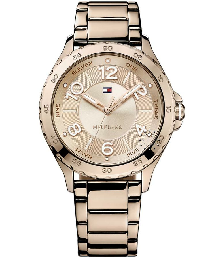 TOMMY HILFIGER Tinsley Rose Gold Stainless Steel Bracelet Η τιμή μας: 130€ http://www.oroloi.gr/product_info.php?products_id=38224