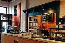 Coffee Shop, Amerikai Zászló, Amerikai