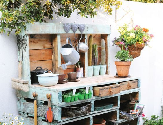 Potting Bench Love  Look For Less