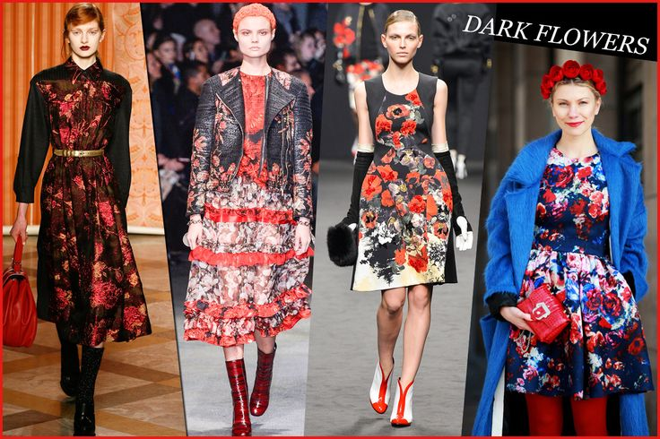 D di DARK FLOWERS http://www.grazia.it/moda/tendenze-moda/trend-autunno-inverno-2013-14-tartan