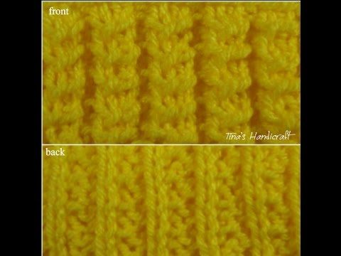 knitting stitch - 1