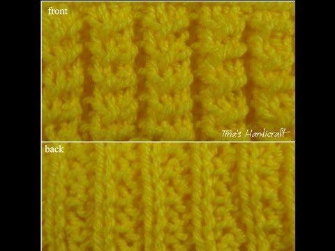 knitting stitch - 1