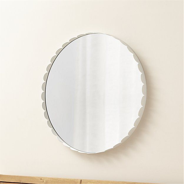 115 best images about house 3 bathroom and laundry on for White round wall mirror