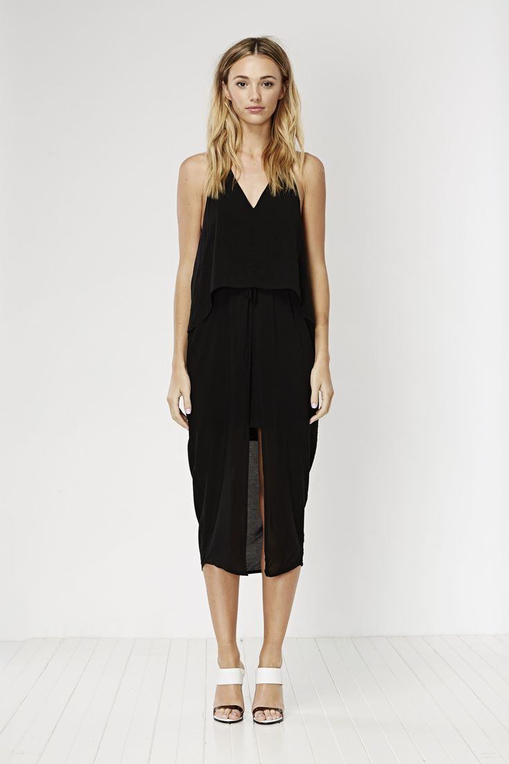 May the Label  - Chase Dress Black - May The Label