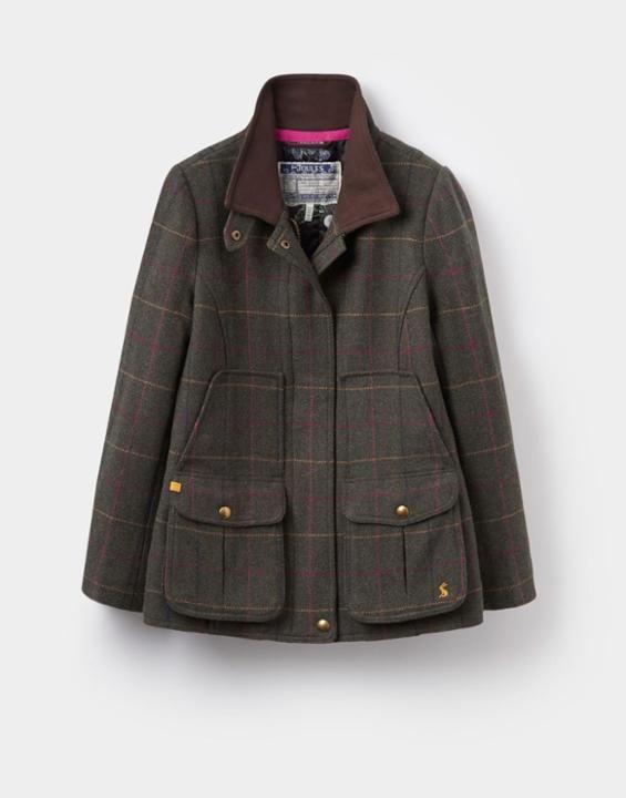 Tweed Heather Check Fieldcoat | Joules US