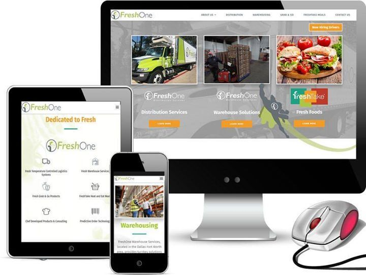 New Website Design For Dallas Texas Based Freshone Fresh One Based In Dallas Texas Came To Red Spot D News Website Design Web Design Content Management System