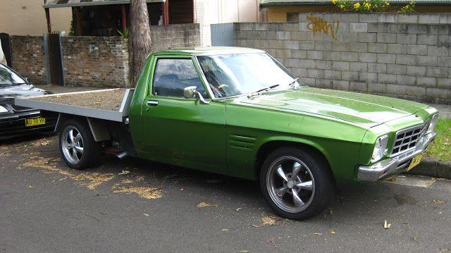 Aussie Old Parked Cars: 1979 Holden HZ One Tonner