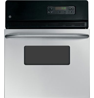"""GE® 24"""" Electric Single Self-Cleaning Wall Oven JRP20SKSS - JCPenney"""
