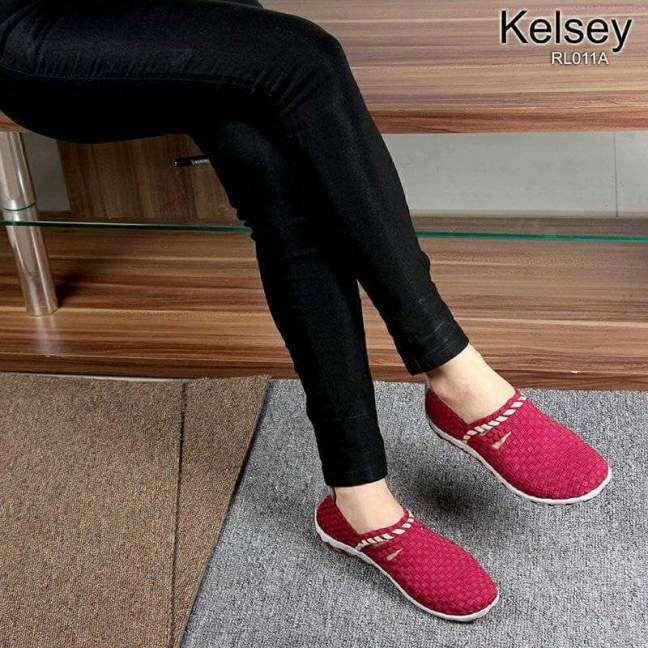 Sepatu Kelsey Rajut Rl011a Trend 2018 Sepatu Wanita Sepatu