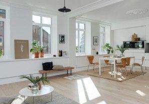 Dit appartement laat zien waarom een minimalistische inrichting erg slim is