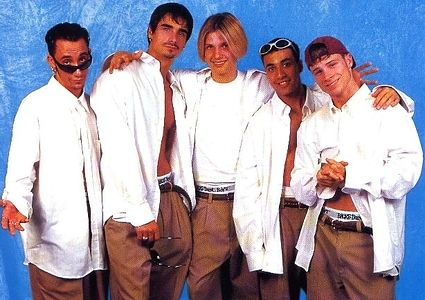 45 Ridiculous Pictures Of Boy Bands -- remind me why I liked them lol??