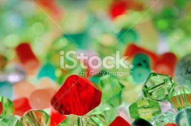 Gemstones macro Abstract Royalty Free Stock Photo