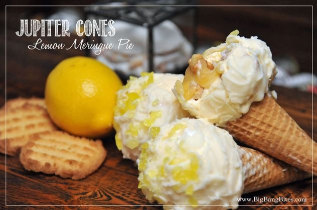 Jupiter Cone Lemon Meringue Pie