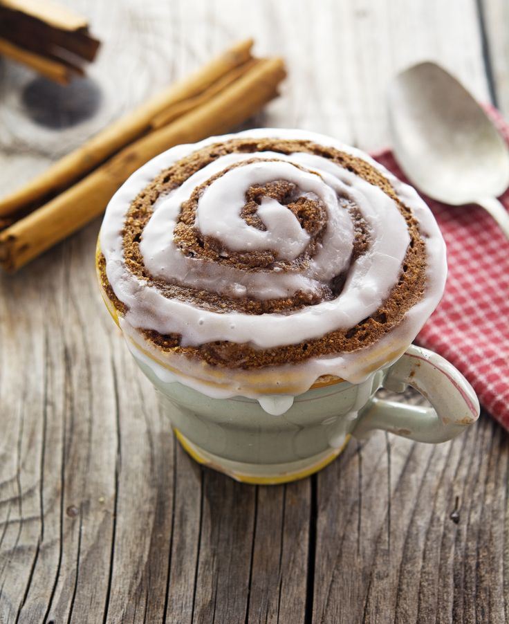 (Paleo) Cinnamon Roll In A Mug More