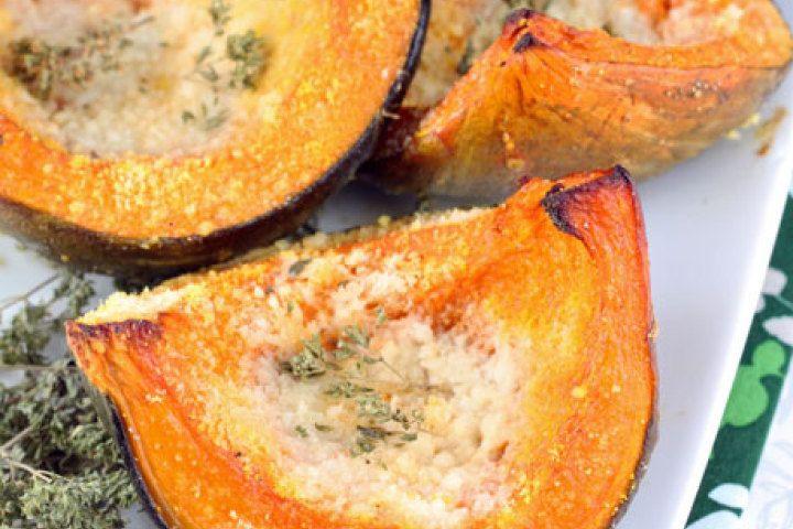 Parmesan Roasted Squash Recipe | Finger Lickin' Good | Pinterest