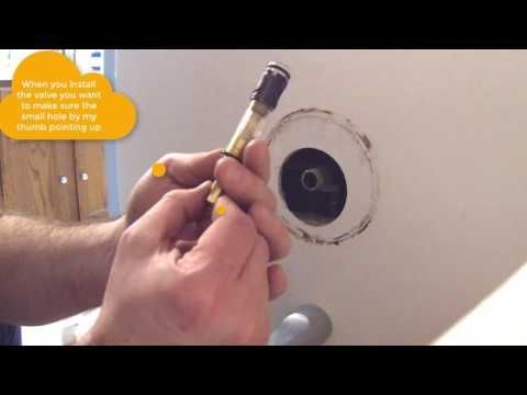 How To Install Moen 1225 1225b Shower Cartridge Similar To 1222 Youtube Moenbathroomfaucets1225 Bathroom Faucets Faucet Led Faucet