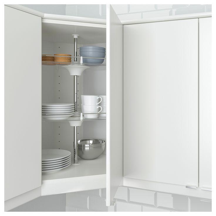 IKEA - UTRUSTA Wall corner cabinet carousel