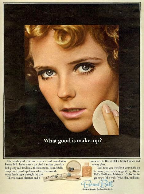 Before they were famous - Cheryl Tiegs for Bonne Bell 1967