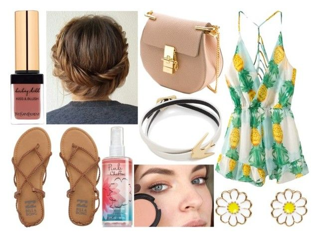 """""""Day out (Cammi)"""" by sofia-rose-gionomo ❤ liked on Polyvore featuring Chloé, Billabong, McQ by Alexander McQueen and Monsoon"""