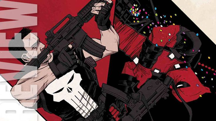 The Unstoppable Will vs. The Unstoppable Mouth  The main difference between The Punisher and Deadpool is motivation. Both appear to be sociopaths. But Frank Castle is driven by vengeance and Wade Wilsons main concern is his paycheck. Neither wants to admit how deeply they are actually driven by emotion.  In Deadpool vs. Punisher #1 Fred Van Lente serves up a script that puts these two on opposite sides of an ambiguous moral scenario.  Wilson and Castle are very familiar with each others…