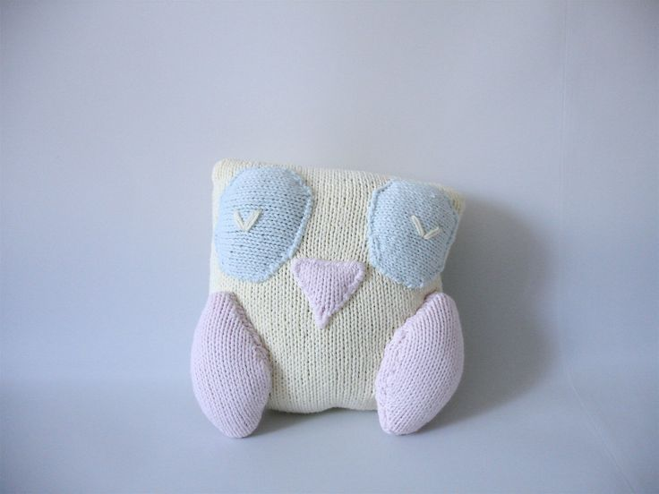 A personal favourite from my Etsy shop https://www.etsy.com/listing/94625272/knitted-owl