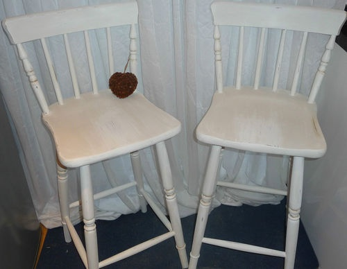 shabby chic kitchen bar stools ebay kitchen pinterest. Black Bedroom Furniture Sets. Home Design Ideas