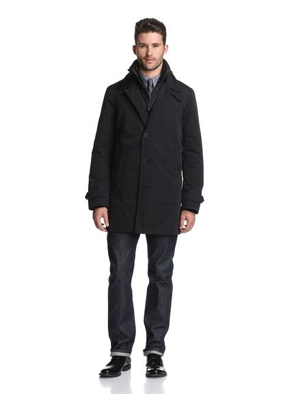 Big sales Today Burberry Men's 2-in-1 Vest & Long Rain Jacket