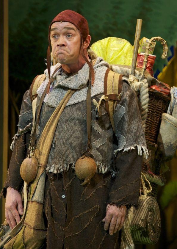 monty python spam | Todd Carty as Patsy in Monty Python's Spamalot.