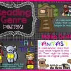 Reading Genre Posters: Use this genre poster pack to help your students discern the difference between various literacy genres.