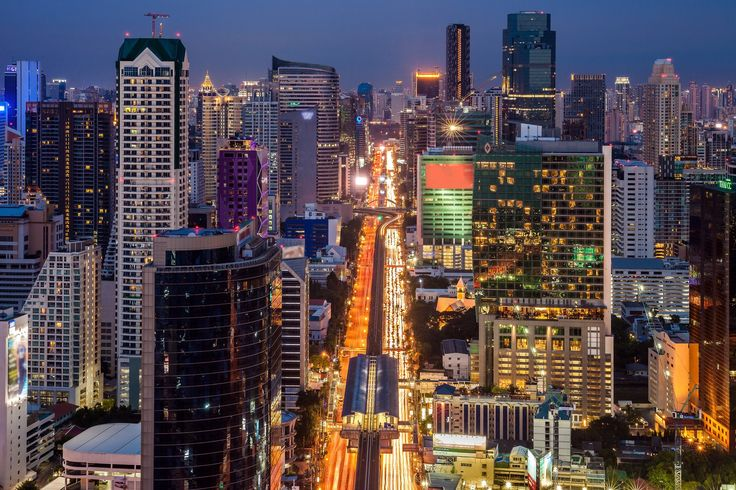 https://flic.kr/p/pA38Vp | Bangkok skyline | Bangkok skyline