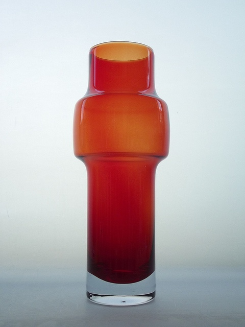 Riihimaki red cased glass vase. Designed by Tamara Aladin by art-of-glass, via Flickr
