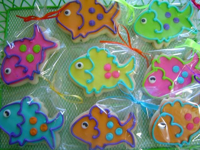 Little fish cookies