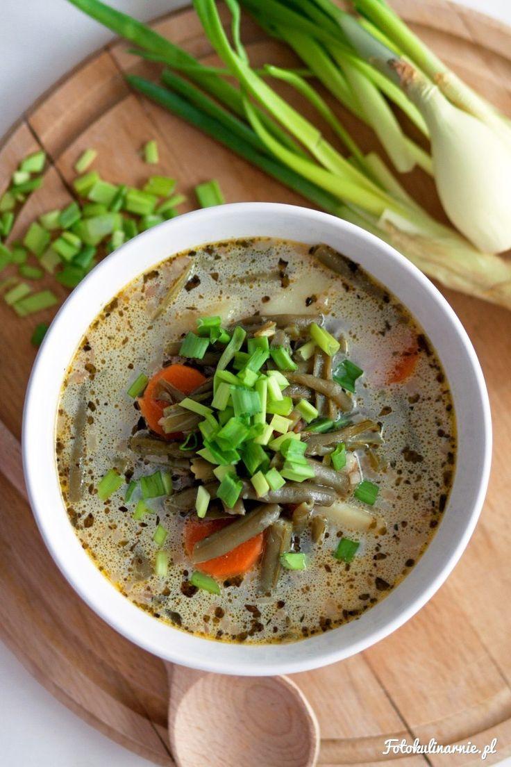 Tradycyjna luksemburska zupa z zielonej fasolki szparagowej. W Luksemburgu to potrawa narodowa.