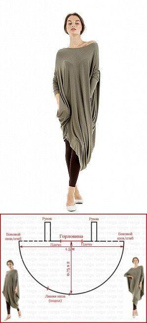Túnica o un vestido? corte interesante