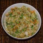 Rezeptbild: Gebratener Reis aus dem Wok mit Gemüse