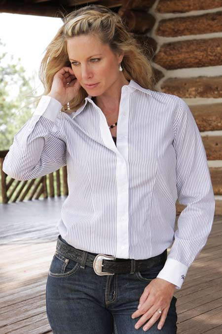 16 best images about women business casual on pinterest for Womens white button down shirt