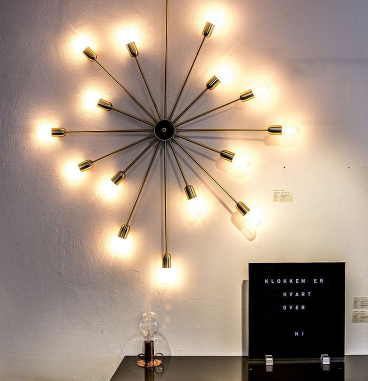 14 best Lighting images on Pinterest Lamp light, Light table and - küchen wanduhren design