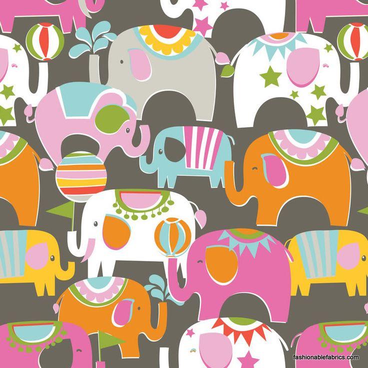 Fabric... Bailey Caravan Pink by Blend Fabrics