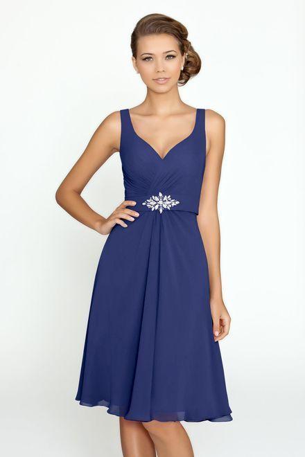 45ae622c22e Bridesmaid V-neck Formal Chiffon Short Prom Party Ball Evening Dresses Size  6-18 Chiffon Short Prom