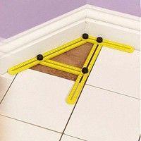 Wish   New Multifunctional Angle Model Angle Ruler Plastic Measuring Tool/ Neue multifunktionale Winkel-Modell Winkel-Lineal Kunststoff-Mess-Tool