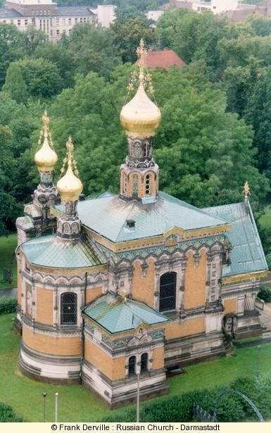 Russian Orthodox Church (Art Nouveau) in Darmstadt, Germany
