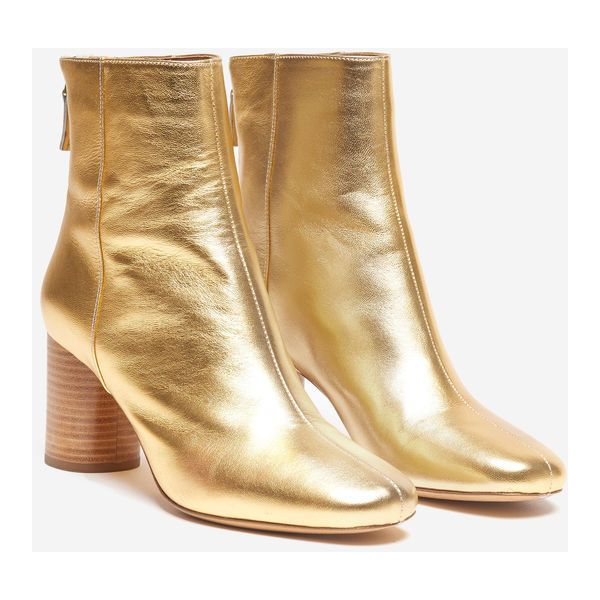 Leather Ankle Boots ❤ liked on Polyvore featuring shoes, boots, ankle booties, wide booties, short boots, wide ankle boots, wide width boots and short leather boots