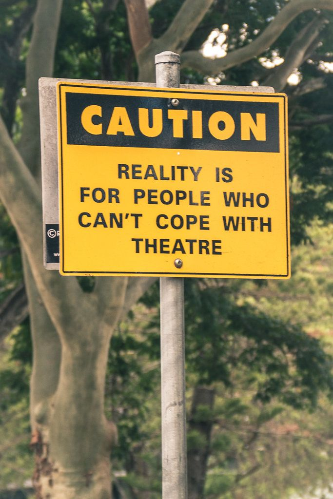 Caution, Reality is for people who can't cope with theatre - Brisbane Powerhouse - New Farm, Brisbane, Australia - Zac Harney Photography