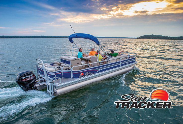 NEW 2015 Sun Tracker® Fishin' Barge 24 DLX   Exclusive Auto Marine #SunTracker #pontoon #boating
